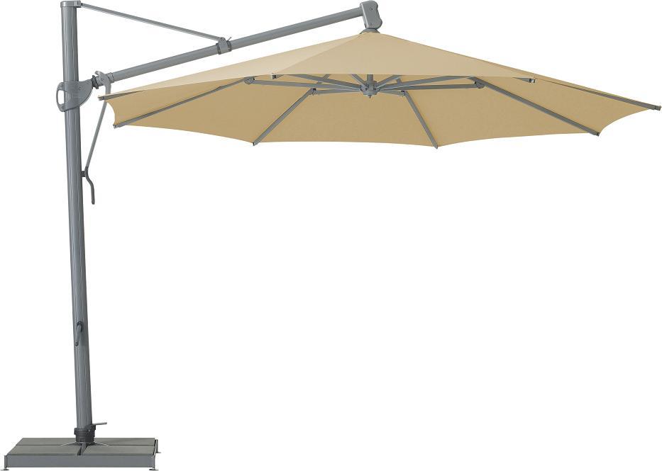 torminatorshop glatz sombrano s sonnenschirm rund 400 cm online kaufen. Black Bedroom Furniture Sets. Home Design Ideas